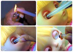 Eyechip Change ~ Glue Stick Method