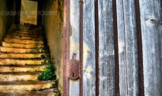 old stairs...