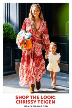 When considering the coolest celebrity moms out there, the fabulous and insanely funny Chrissy Teigen always comes to mind. Beyond her sarcastic humor, there's one thing we love even more - her fashion. Which is why we've put together a collection of her most iconic outfits and found where you can get them for yourself. #MomLife #MomFabulous #Mom #ootd #outfits #fashion #clothes #chrissyteigen #chrissy #johnledgen #fashionista #style Fashion 101, Fashion Bloggers, Fashion Clothes, Love Fashion, Fashion Outfits, Holiday Style, Holiday Fashion, Autumn Winter Fashion, Spring Fashion