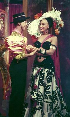 """indypendent-thinking:  Donald O'Connor & Marilyn Monroe in """"There's No Business Like Show Business"""" 1954"""
