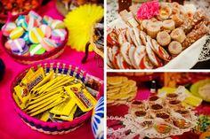 Ideas para una boda con tema mexicana chic #bodas #ElBlogdeMaríaJosé  #bodamexicana
