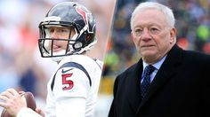 Brandon Weeden on Cowboys: Jerry Jones will be watching playoffs on his couch  12/30/2015
