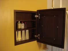I really want to put one of these in the bathroom...I think my grandpa is crafty enough to pull it off!