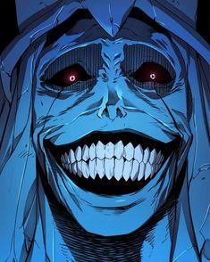 """I rarely read RPG/SAO-inspired manga , but so far Solo Leveling has been great! Dark Fantasy Art, Dark Art, Dark Anime Art, Manga Drawing, Manga Art, Manga Anime, Arte Horror, Horror Art, Creepy Horror"