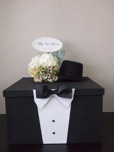 Pegeo Wedding Money & Gift Cards Box Set for Groom