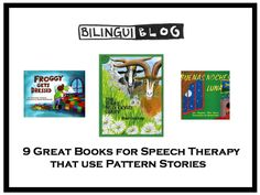 PATTERN STORIES - This week's predictable book theme is Patterns – we are looking forward to sharing our favorite books that follow a pattern and why they can be so helpful and easy to integrate into our current therapy!