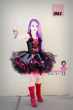 Monster High inspirado Vondergeist Spectra traje