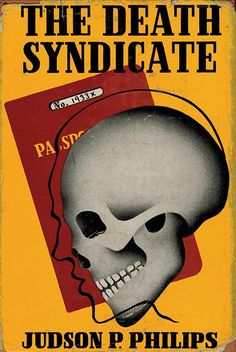 cover artist unknown, 1938, from my Popular Skullture book review...