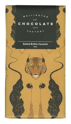 Salted brittle caramel