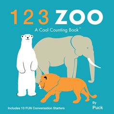 (Workman) From counting penguins and lions to giraffes and bears, this board book introduces toddlers to the familiar sights of a zoo while making basic numbers fun to learn.