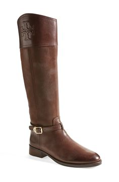 These Tory Burch riding boots are destined to be one of the most-worn items in your closet.