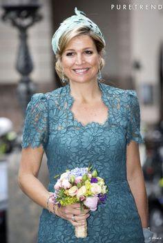 La Reine Maxima des Pays Bas, l'une des têtes couronnées les plus stylées.