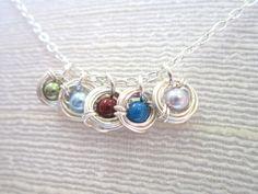 Tiny Nests, Custom Bird's Nest Necklace #MoonlightBayJewelry