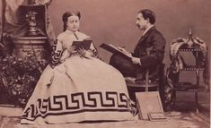Prince Placido Gabrielli (grandson of Lucien Napoleon by his first wife) and his wife Augusta Bonaparte (granddaughter of Lucien by his second wife, and granddaughter of Joseph Bonaparte). They were both half first cousins, and first cousins once removed. They had no children.