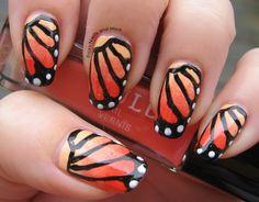 cool nail varnish designs - cool nail polish designs butterfly ...