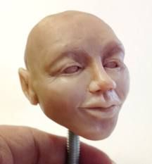 how to make polymer clay faces - Google Search