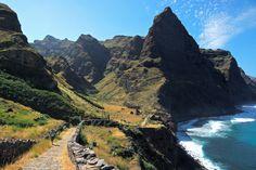 Chemin de muletier au Cap-Vert© Géraldine Rué