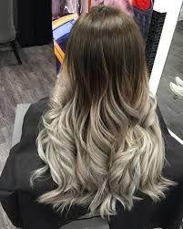 Resultado De Imagen Para Rubio Ceniza Mate Ombre Hair Blonde Hair Styles Silver Ombre Hair