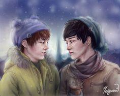 Winter is comiiiing by MegumiEvilKyu on DeviantArt