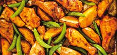 Portuguese-Style Chicken and Potatoes Ricardo Chef Recipes, Turkey Recipes, Potato Recipes, Chicken Recipes, Cooking Recipes, Healthy Recipes, Ricardo Recipe, My Cookbook, Gluten Free Chicken