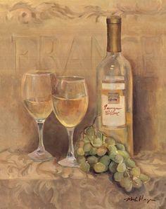 Vin Francais Fine-Art Print by Marilyn Hageman at UrbanLoftArt.com