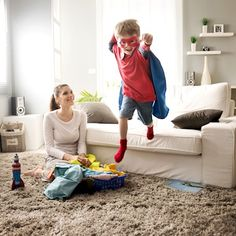 C&A gives creative tips for tidying up around the home with the kids and to have some fun together.