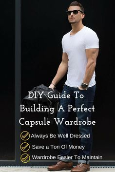 Capsule Wardrobe Guide. #MensFashion