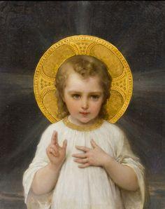 Émile Munier Jesus, oil on canvas. c.1893