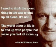RIP Robin Williams. Your absence is definitely felt.