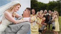 Yellow Bridesmaids Dresses | Canaan Valley Resort, WV | Davis, West Virginia | Wedding Venue Photography | http://canaanresort.com/13/group-conference/group-services/weddings-receptions/