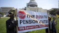 The pension benefits for 400,000 people are in jeopardy as the failing Central States Pension Fund runs out of options to avoid going under.