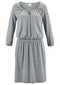 Sukienka z dżerseju, rękawy 3/4 Z • 32.99 zł • bonprix