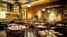 In NYC you can find some of the most beautiful dishes in the world, but equally sexy are the gorgeous spaces that house all those pretty plates (and pretty people). Here are some of the sexiest spots to see and be seen, including a few new hot restaurants from SoHo to Williamsburg.