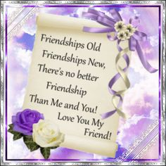 It's#FriendshipWeek. Celebrate it with your Friends Old or New with this beautiful Ecard. www.123greetings.com