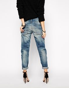 Image 2 of G Star Arc 3D Boyfriend Jeans