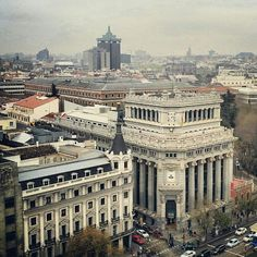 View from the Círculo de Bellas Artes