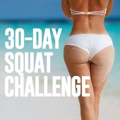 April Challenge: 30-Day Squat Challenge | Skinny Mom | Where Moms Get the Skinny on Healthy Living