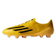 purchase cheap b551b 4d226 adidas F50 adizero FG Messi (Running White Neon Orange). World Soccer Shop