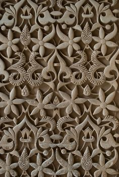Pattern on the wall in the Alhambra | ©Otomodachi, via flickr