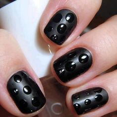 black nail.