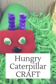 Pinned from www.happymummy,co.uk Very Hungry Caterpillar Craft | Bostik Bloggers Creepy Crawlies