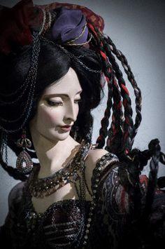 . Alexandra (Sasha) Khudyakova // yes, it's a doll, but isn't that a painting and a half?
