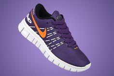 Womens Nike Free 6.0 V2 Lovers Dark Purple Bright Orange