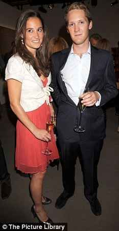 Caption: Pippa Middleton with George Percy    Pippa Middleton may be one step closer to becoming a duchess after flying off on holiday with her old pal George Percy, heir to the ancient Duchy of Northumberland.    Read more: http://www.dailymail.co.uk/tvshowbiz/article-2106436/Will-George-Percy-make-Pippa-Middletons-duchess-dream-come-true.html#ixzz1nUkqhhJk