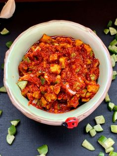 Red Chilli, Bite Size, Chana Masala, Delicious Food, Pickles, Ethnic Recipes, Red Chili, Yummy Food, Pickle