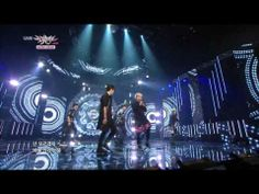 20140613 Music Bank stage - Infinits' Shower