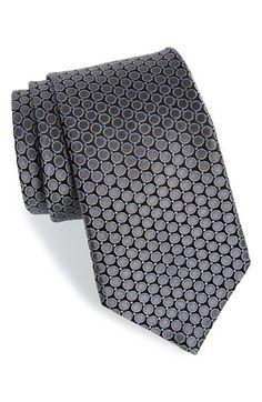 Men's Nordstrom Dot Silk Tie
