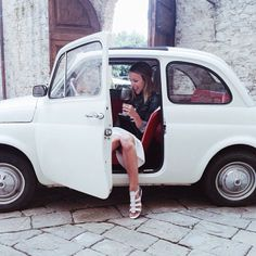 Damsel in Dior takes Italy