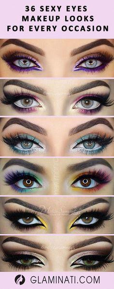 natural makeup black girl - make_up_pintennium Makeup Black, Sexy Eye Makeup, Eye Makeup Steps, Eye Makeup Art, Smokey Eye Makeup, Eyeshadow Makeup, Hair Makeup, Makeup For Green Dress, Fairy Eye Makeup