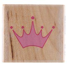 Princess Crown 02 Rubber Stamp $1.75 (sale - reg. $3.49)